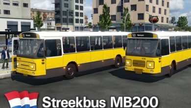 Photo of Transport Fever 2 – NL Streekbus MB200