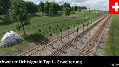 Photo of Transport Fever 2 – Swiss Light Signals Type L – Extension