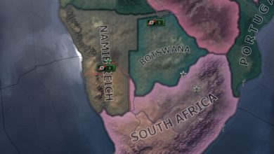 Photo of Hearts of Iron IV – Namibia Rework