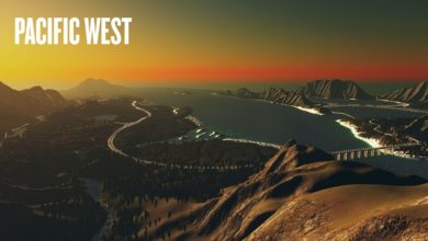 Photo of Cities Skylines – Pacific West Map