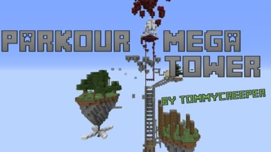 Photo of Minecraft – Parkour Mega Tower Map