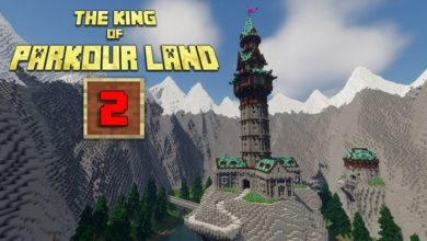 Photo of Minecraft – The King of Parkour Land 2 Map