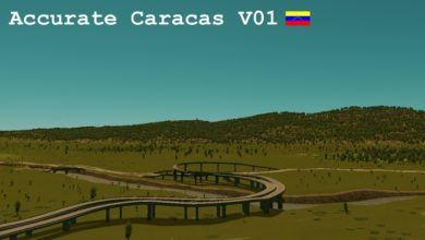 Photo of Cities Skylines – Accurate Caracas Map V01
