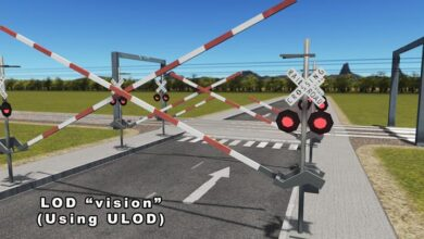 Photo of Cities Skylines – American Level Crossing Barrier
