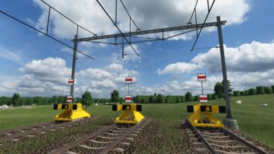 Photo of Transport Fever 2 – Dutch Track with B1 Catenary